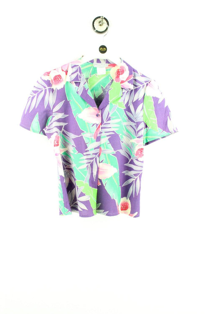 Vintage Fern Party Shirt ( M ) - Vintage & Rags