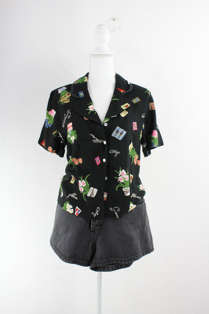 Vintage Girly Hawaii Shirt (M) Vintage & Rags