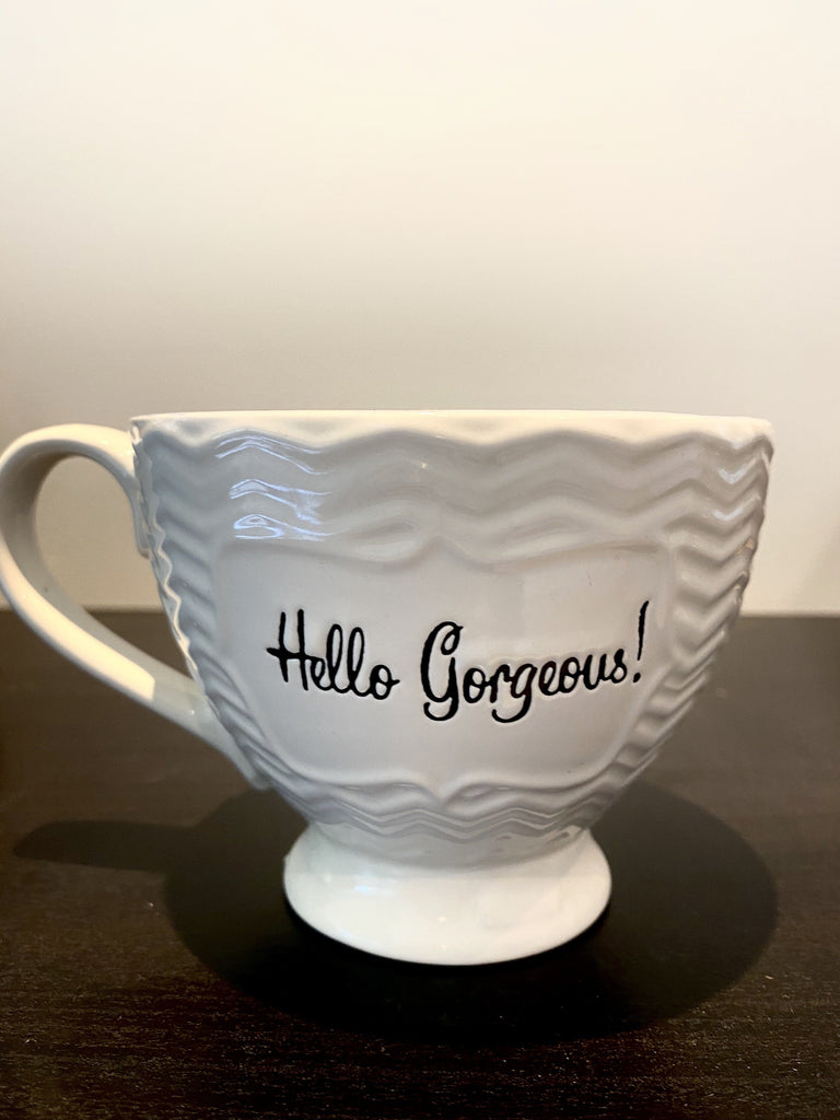 Vintage Hello Gorgeous! Cup Vintage & Rags