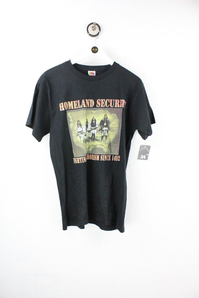 Vintage Homeland Security T-Shirt ( M ) Vintage & Rags Online