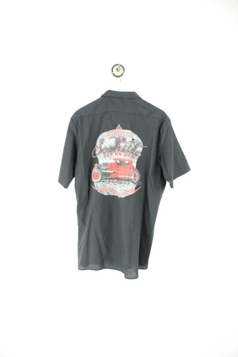 Vintage Hot Rod Shop Shirt (L) Yeeco KG