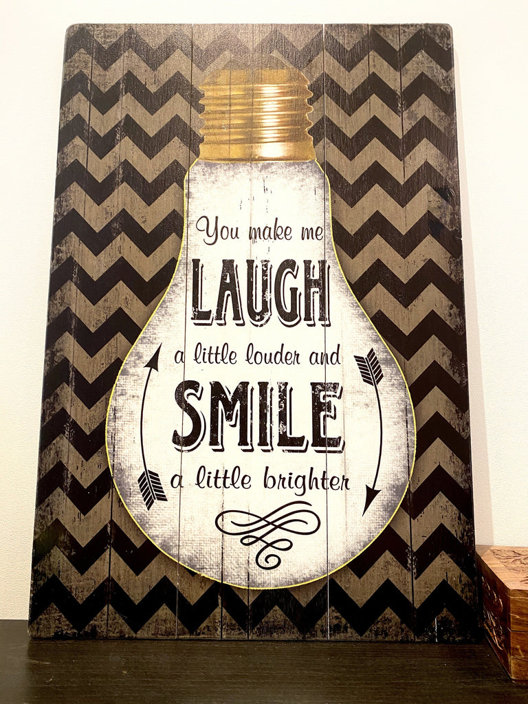 Vintage Laugh & Smile Picture Vintage & Rags