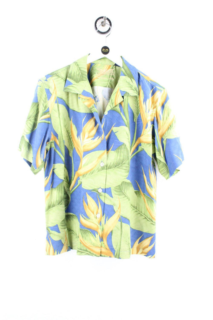 Vintage Nature Leaves Party Shirt ( M ) - Vintage & Rags