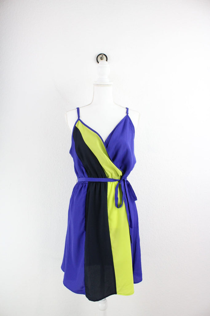 Vintage Purple Dress (M) Vintage & Rags