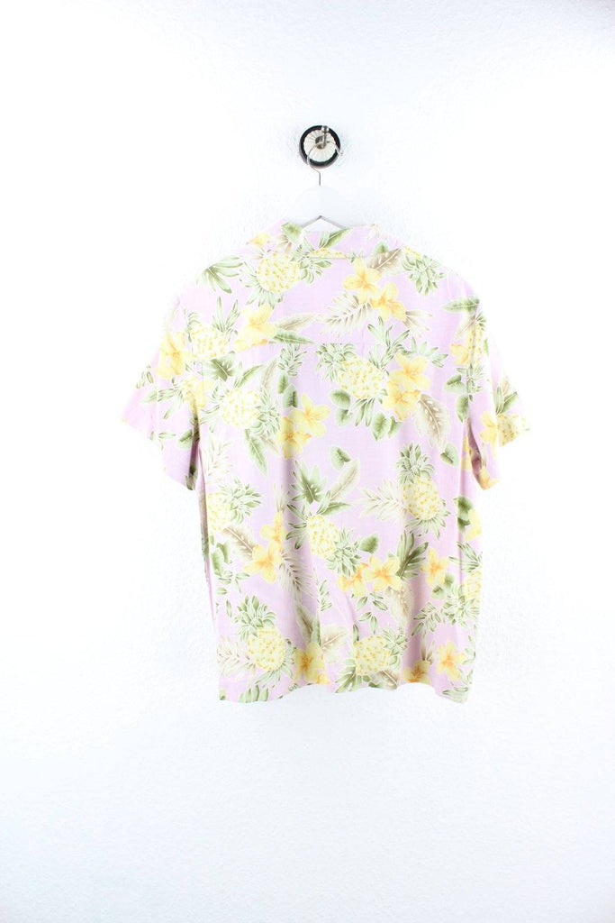 Vintage Silk Pineapple Party Shirt ( L ) - Vintage & Rags