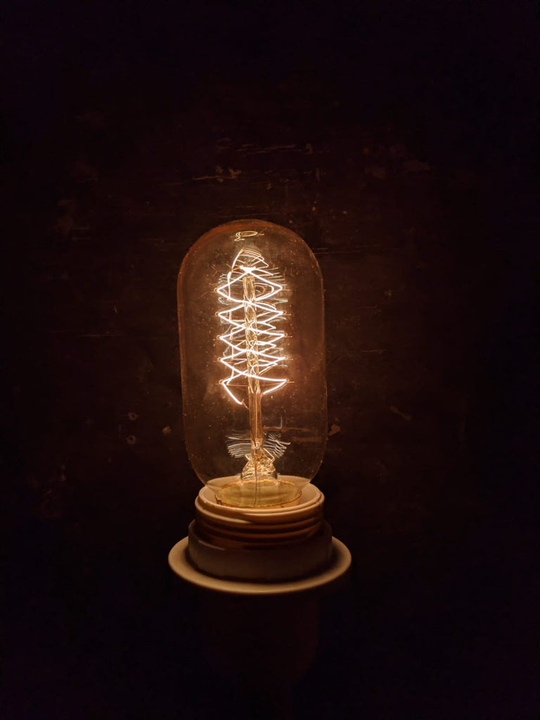 Vintage Small Light Bulb Vintage & Rags