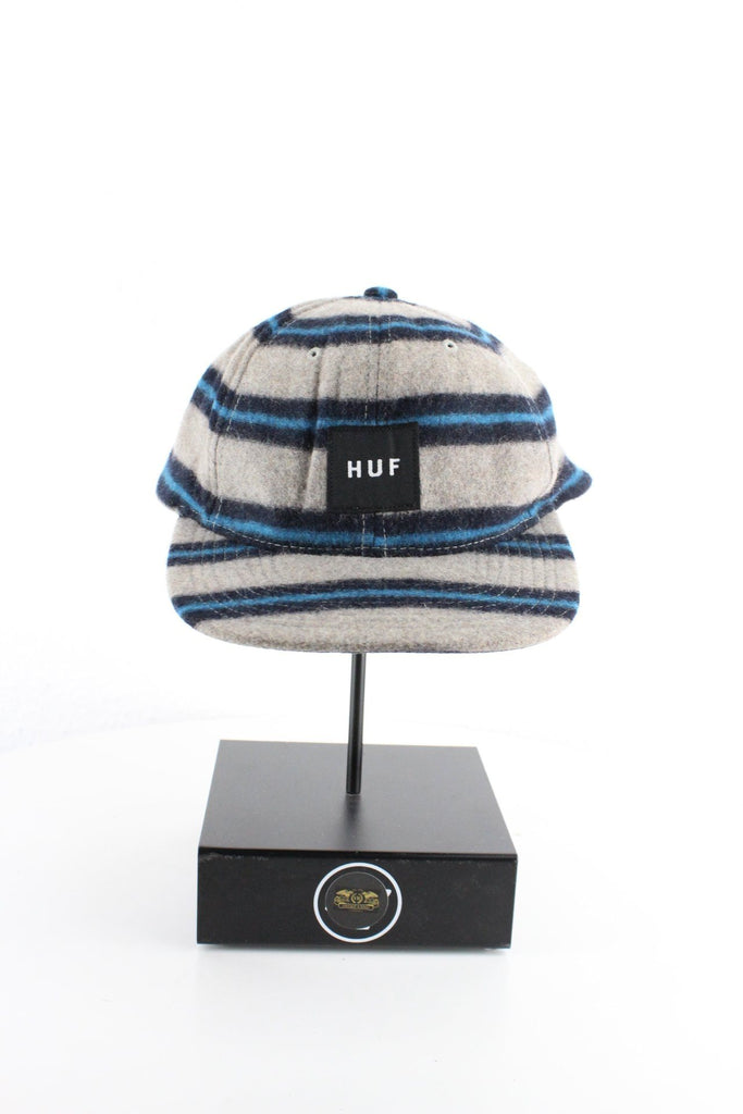 Vintage Striped Huf Cap (One Size) Vintage & Rags
