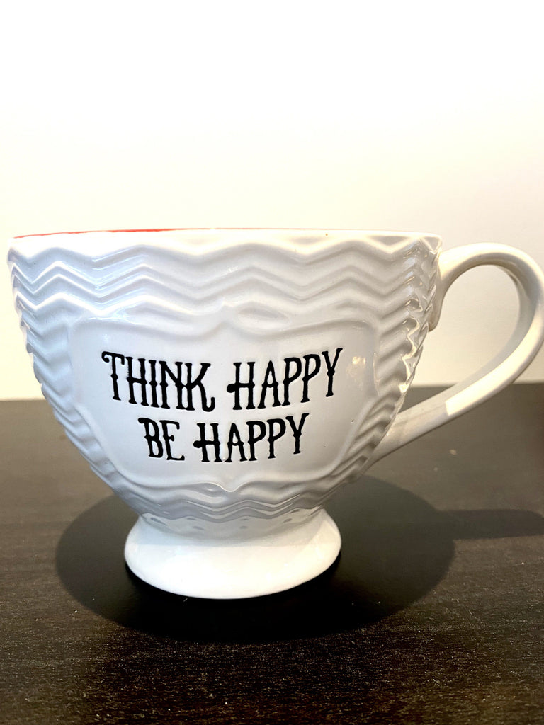 Vintage Think Happy Be Happy Cup Vintage & Rags