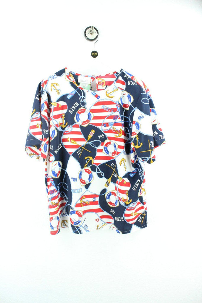 Vintage USA Party Shirt ( M ) - Vintage & Rags