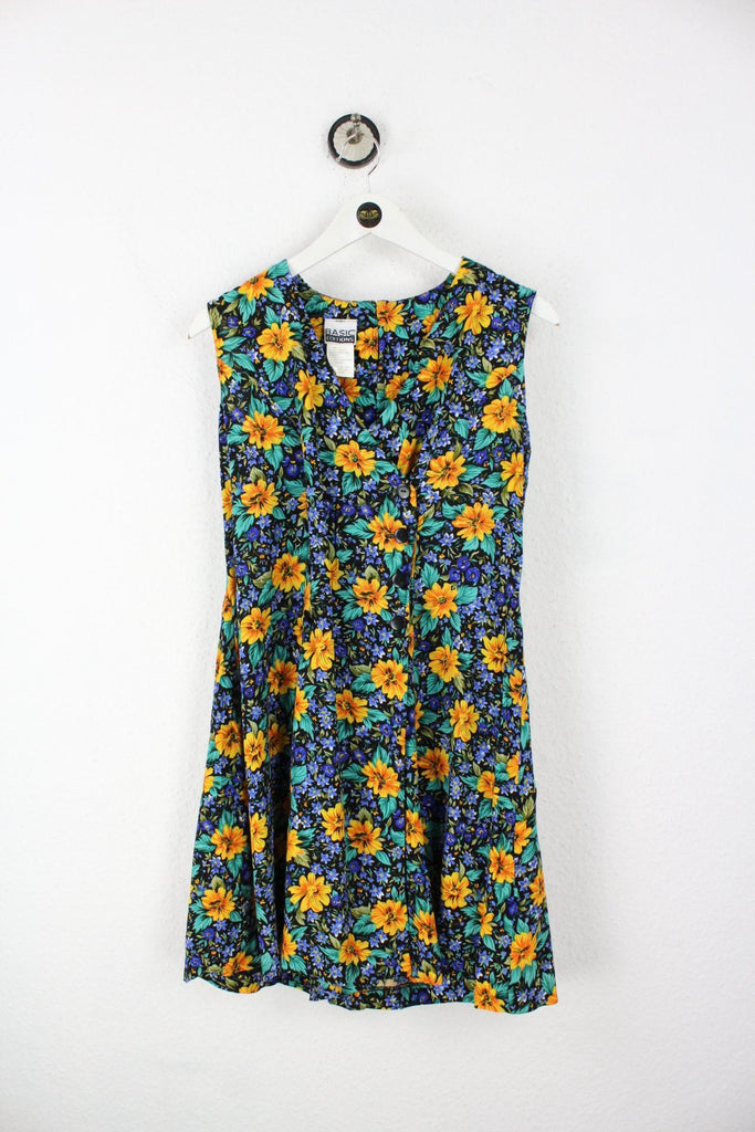 Vintage Yellow Flower Dress (S) Vintage & Rags