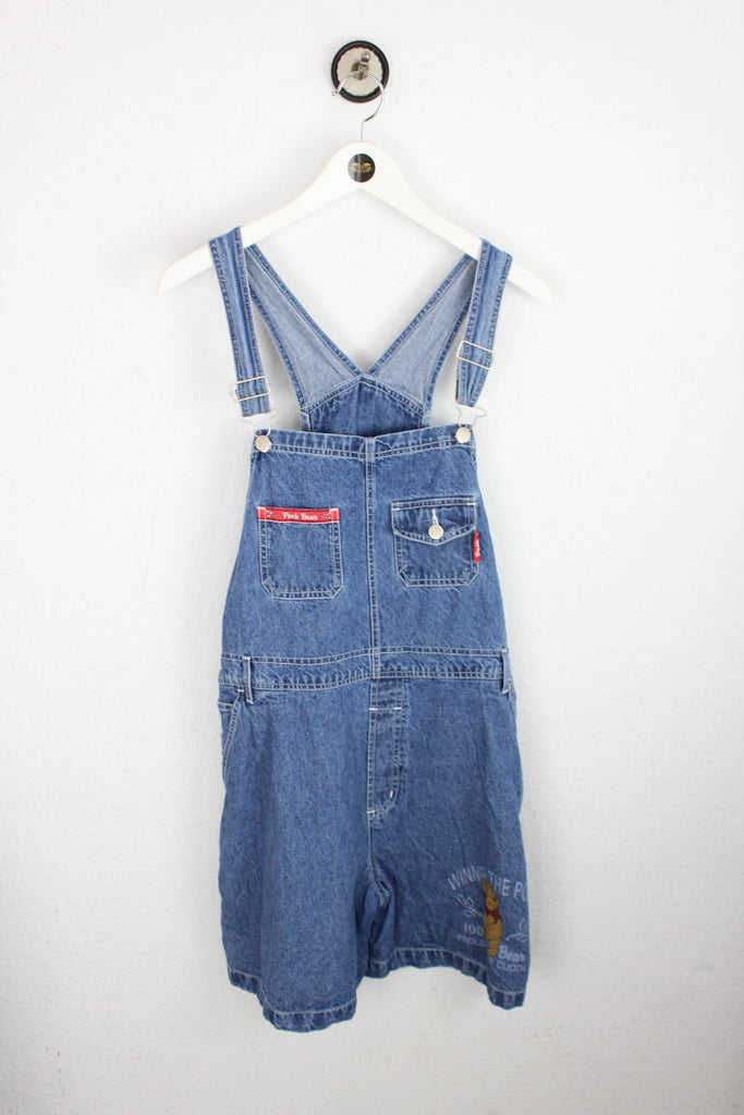 Winnie Pooh Dungarees Short (XL) - Vintage & Rags Online