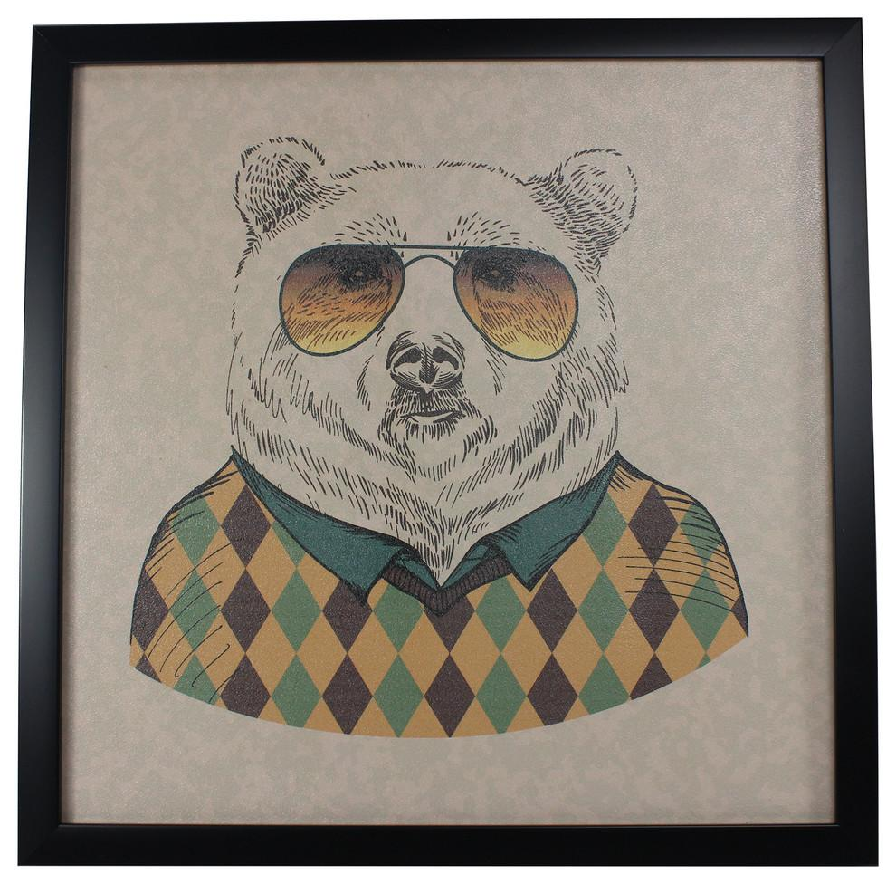 Yanimals Picture Frame Bear Vintage & Rags