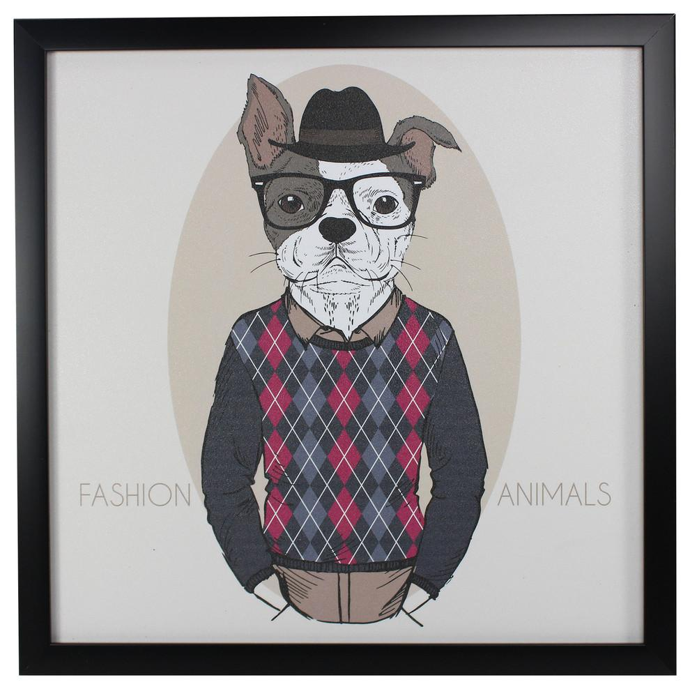 Yanimals Picture Frame Dog 2 Vintage & Rags