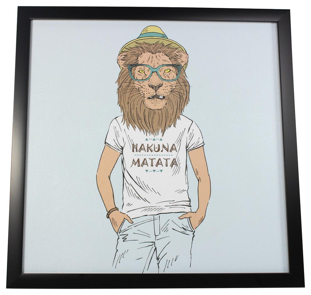 Yanimals Picture Frame Lion 2 Vintage & Rags