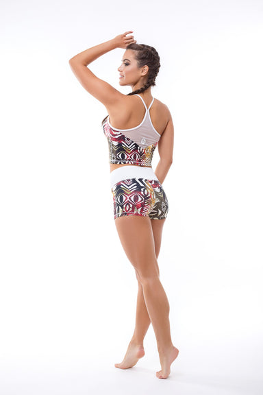 Africa Fitness Short, Shorts, - Indi-Go Style, BarbellPrincess,