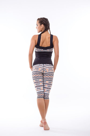 Bambara workout crop  Leggings - BarbellPrincessUsa