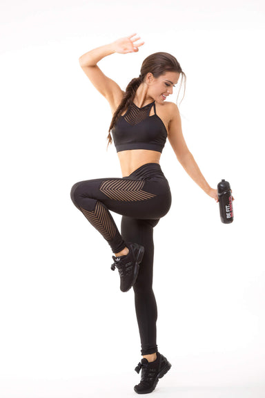 Fishbone yoga Leggings - BarbellPrincessUsa