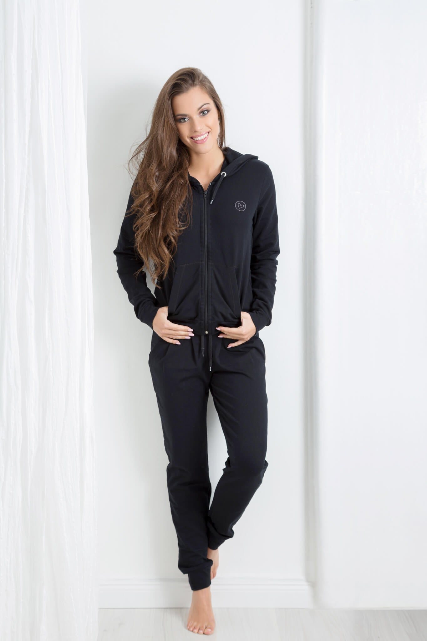 Free Time jogging Suit set Hoodie+pants - BarbellPrincessUsa