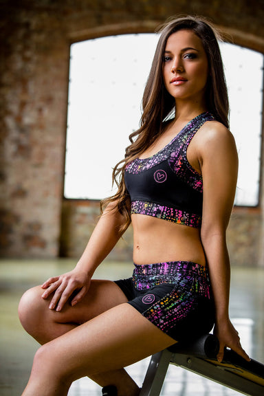 Chameleon Camil workout top - BarbellPrincessUsa