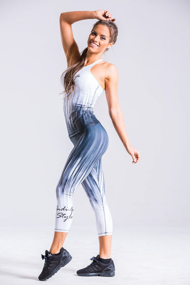 Frosty Fitness Leggings - BarbellPrincessUsa