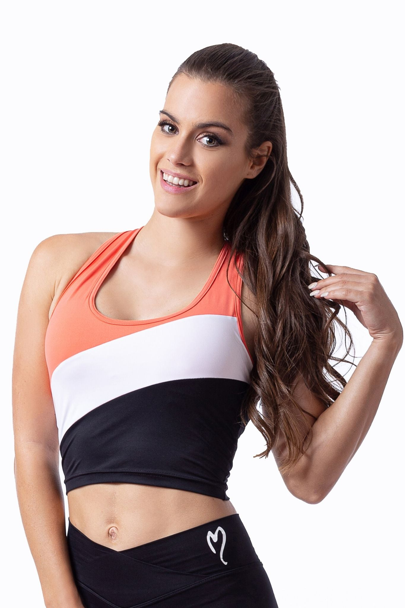 Timella top with Removable padding - BarbellPrincessUsa