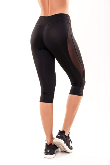 Wave Cropped Leggings - BarbellPrincessUsa