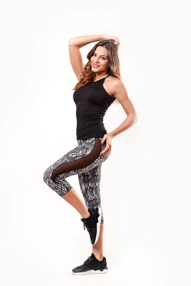 Wave Cropped Leggings