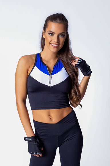 Zipp Fitness long Top - BarbellPrincessUsa
