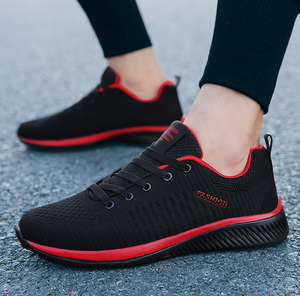 Casual Lace-up Lightweight Breathable Mesh Sneakers