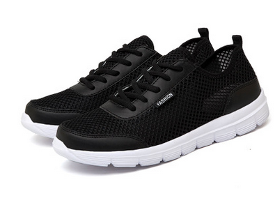 Fashionable Summer Breathable Mesh Sneakers