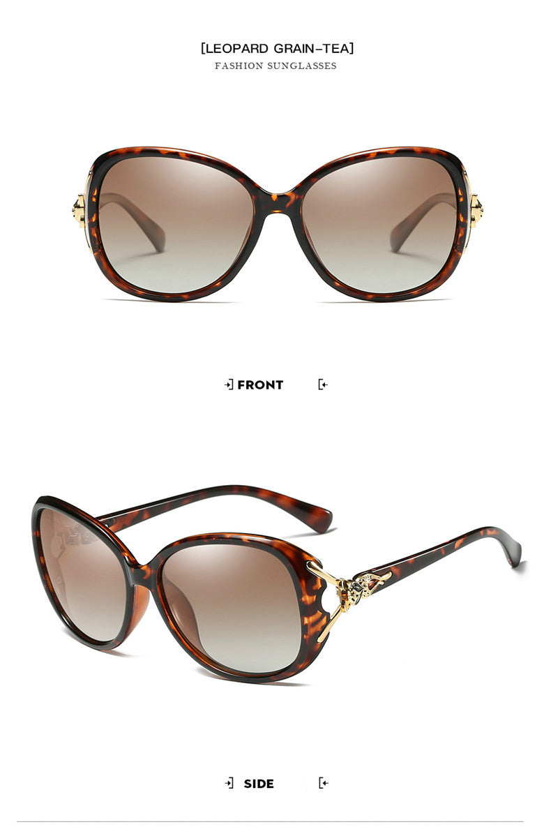2019 NEW Fashion Fox Frame HD Polarized Sunglasses(Add Two to Cart and Pay for One Only)