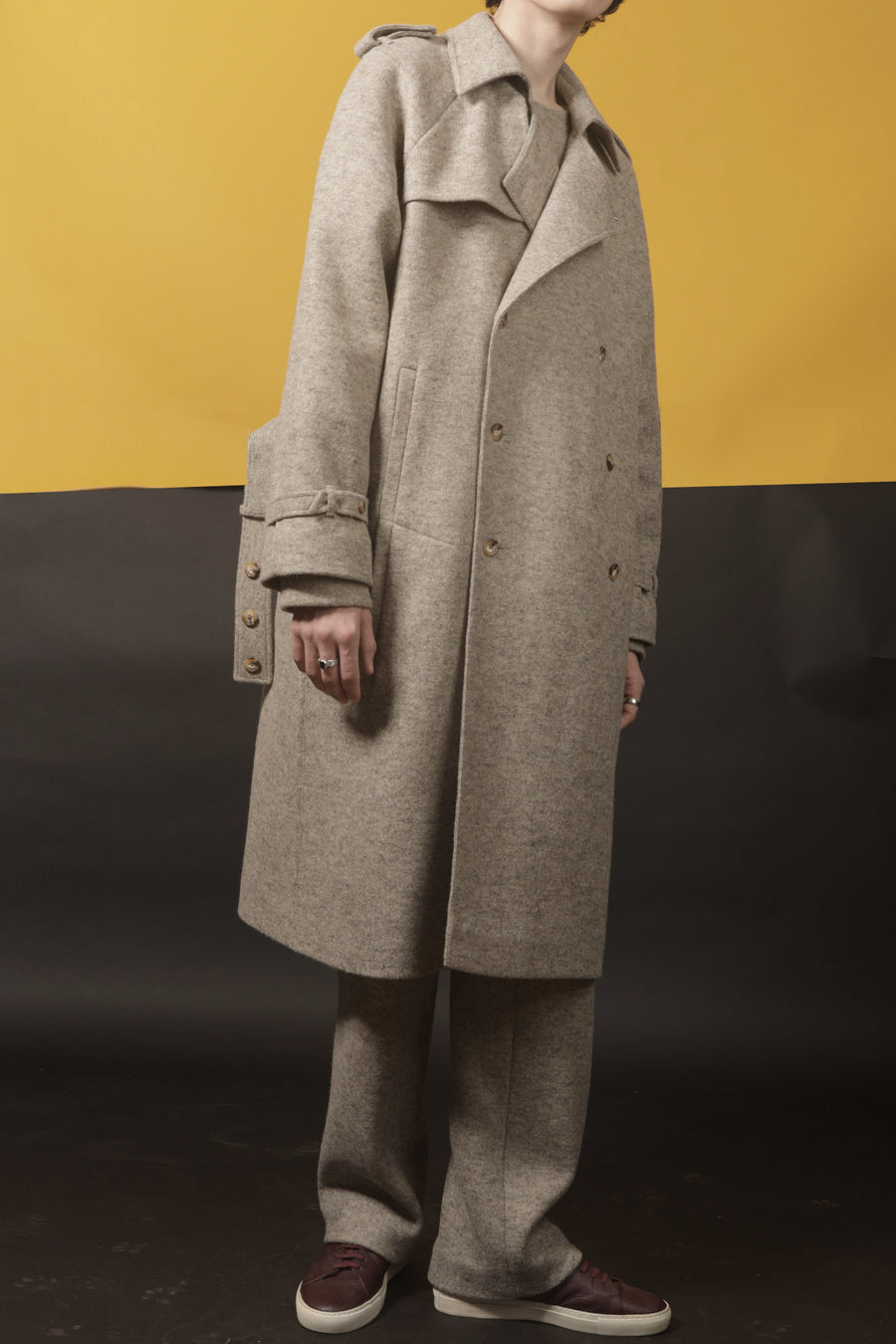 COLTE – JERSEY TRENCH COAT