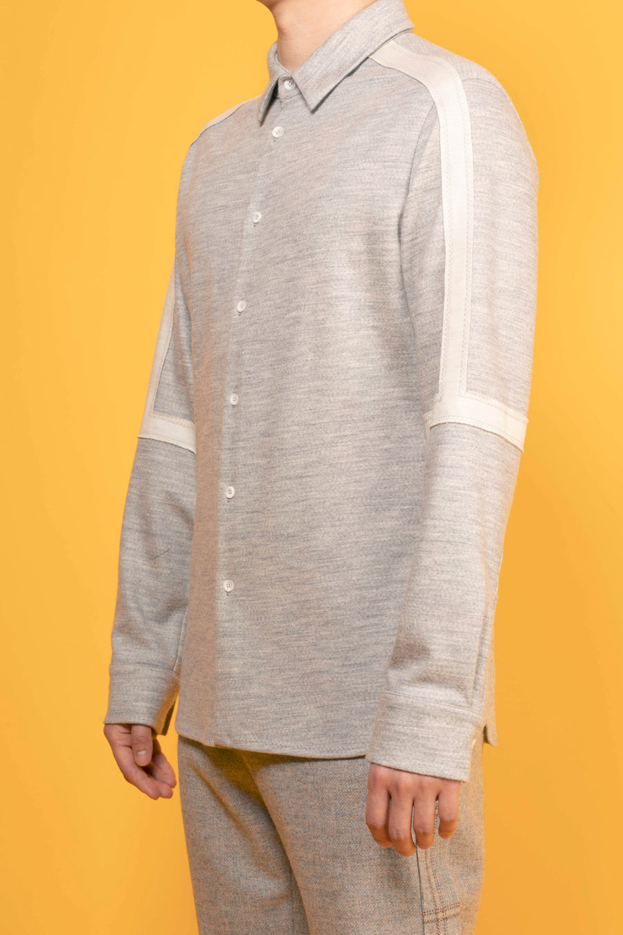 SPIKE– WOOL JERSEY SHIRT