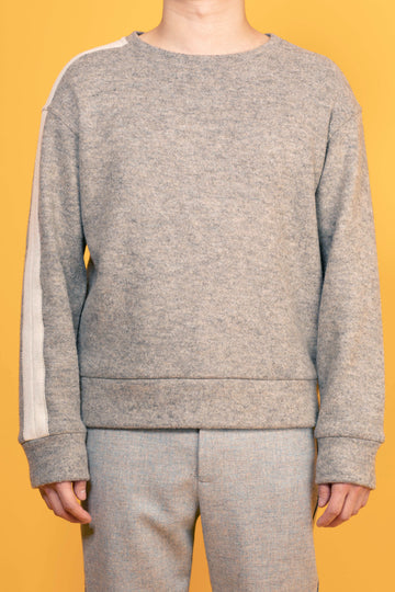 SALIX-LINE DETAILED SWEATSHIRT