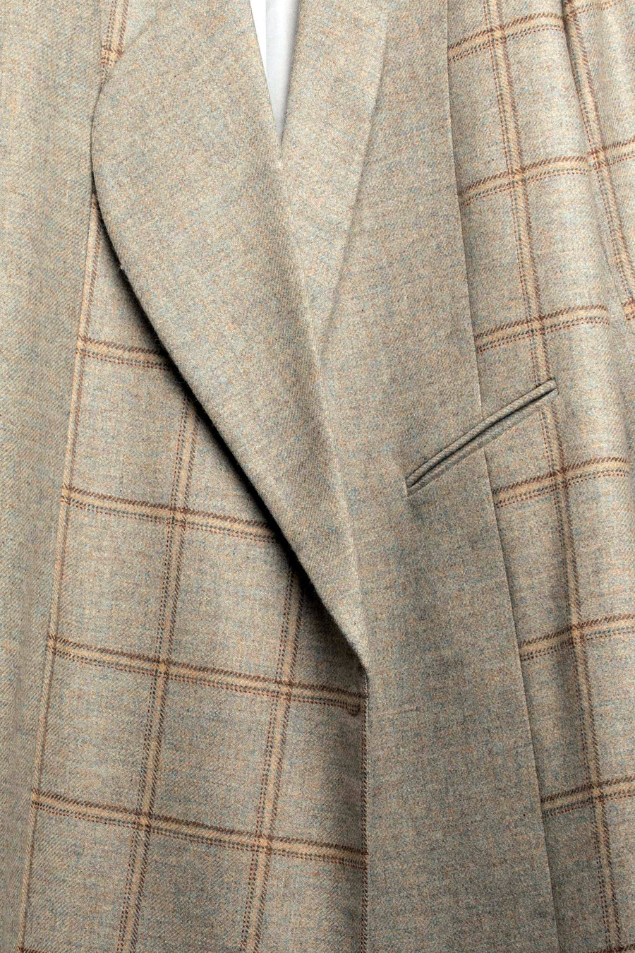 CANNA-TWEED CHECK MIX COAT