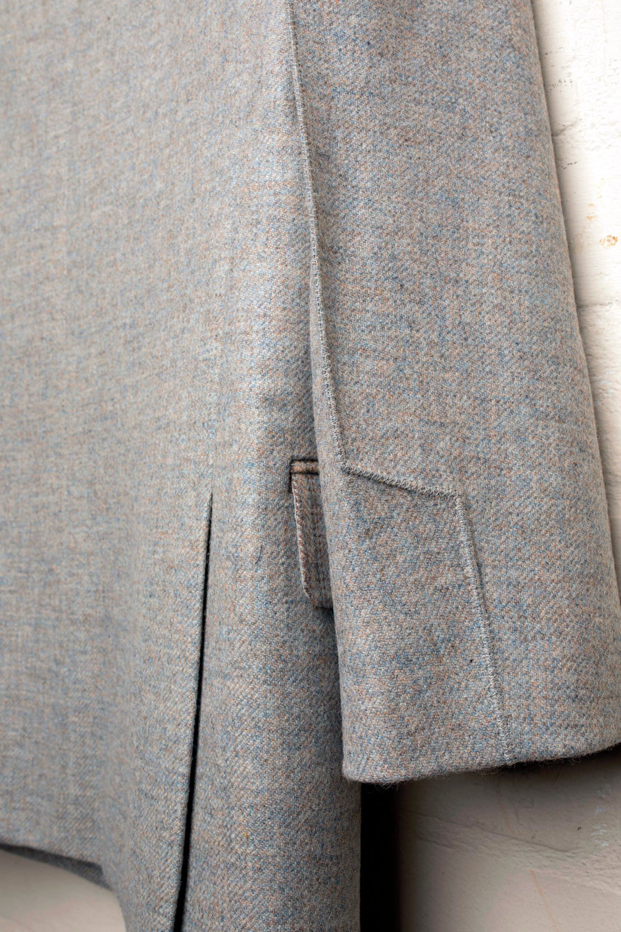 JOANNA – CHECK TWEED MIXED BLAZER