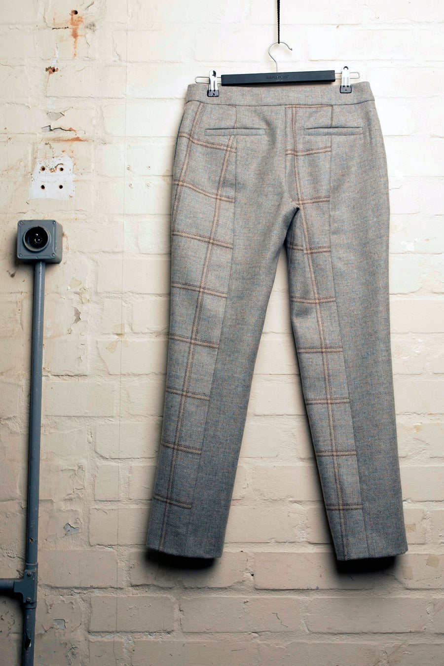 PIA – CHECK TWEED CROPPED TROUSER
