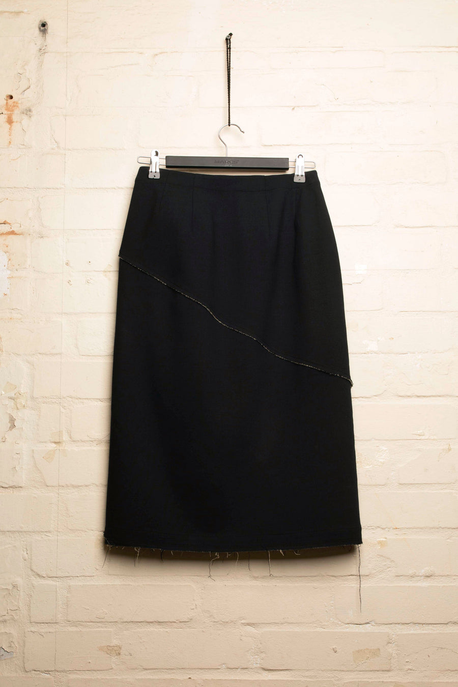 SAIF – RAW EDGED MIDI SKIRT