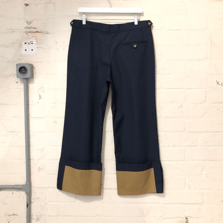 PIERS – COTTON CROPPED TROUSER