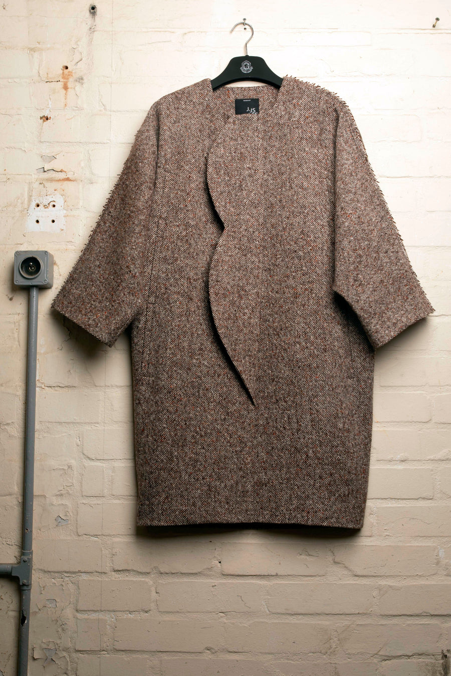 CALLA – OVERSIZED TWEED COAT