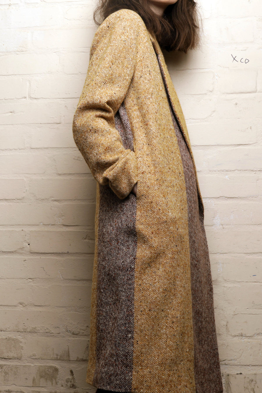 CANNA-HEAVY TWEED COAT