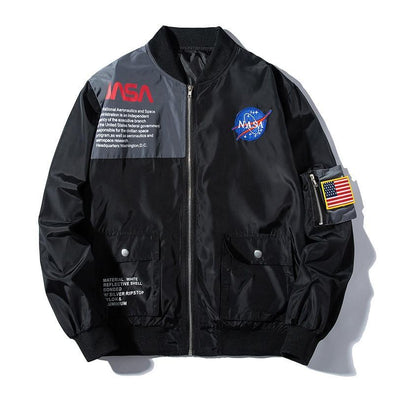 [LIMITED EDITION] Galactic Windbreaker URBAN INFLUX Black XS