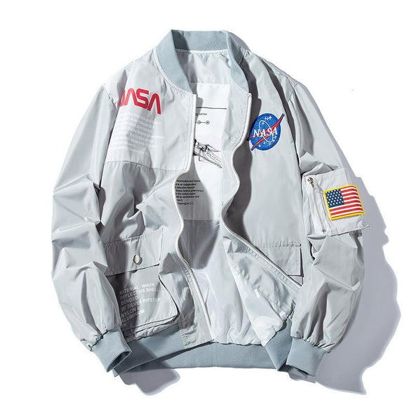 [LIMITED EDITION] Galactic Windbreaker URBAN INFLUX Gray XS