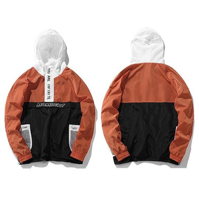 INFINITE Hooded Jacket URBAN INFLUX Orange M