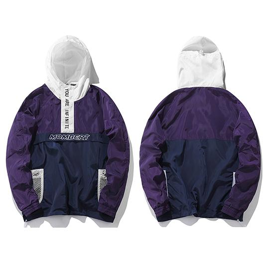 INFINITE Hooded Jacket URBAN INFLUX Purple M