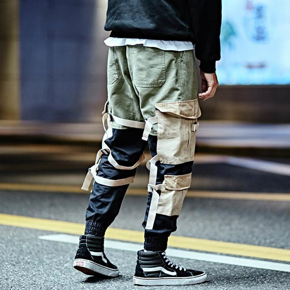 Urban Strapped Cargo Pants URBAN INFLUX