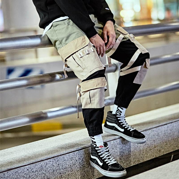 Urban Strapped Cargo Pants - URBAN INFLUX