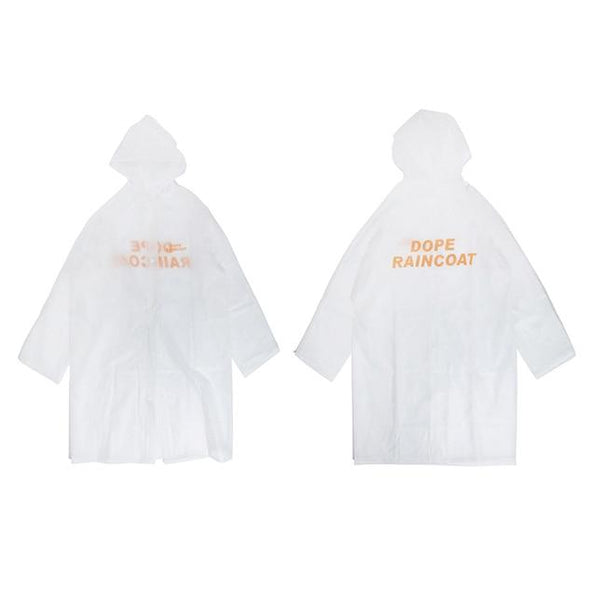 DOPE Raincoat URBAN INFLUX White One Size