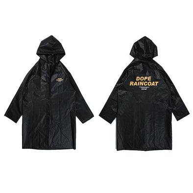 DOPE Raincoat URBAN INFLUX Black One Size