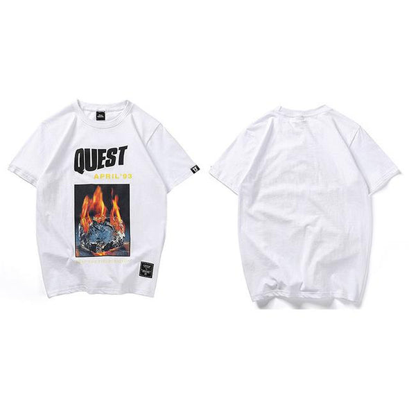QUEST T-Shirt URBAN INFLUX White L